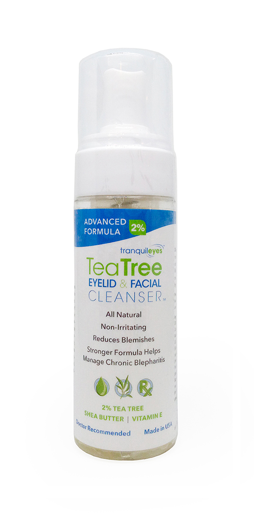 ADVANCED FORMULA 2% TEA TREE EYELID & FACIAL CLEANSER™ 180ML