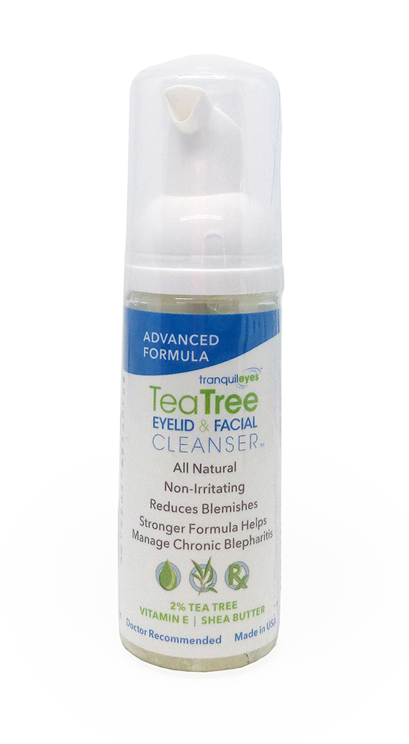 Eye Eco ADVANCED FORMULA 2% TEA TREE EYELID & FACIAL CLEANSER™ 50ML