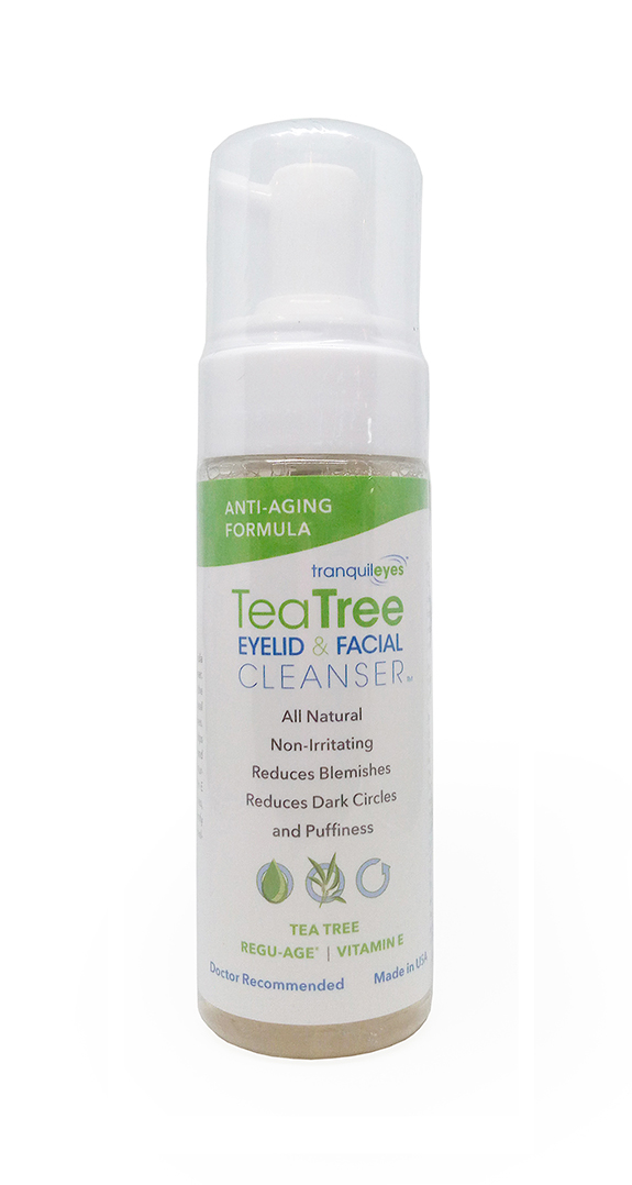 ANTI-AGING FORMULA 1% TEA TREE EYELID & FACIAL CLEANSER™ 180ML
