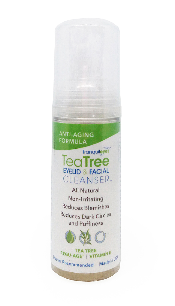 ANTI-AGING FORMULA 1% TEA TREE EYELID & FACIAL CLEANSER™ 50ML