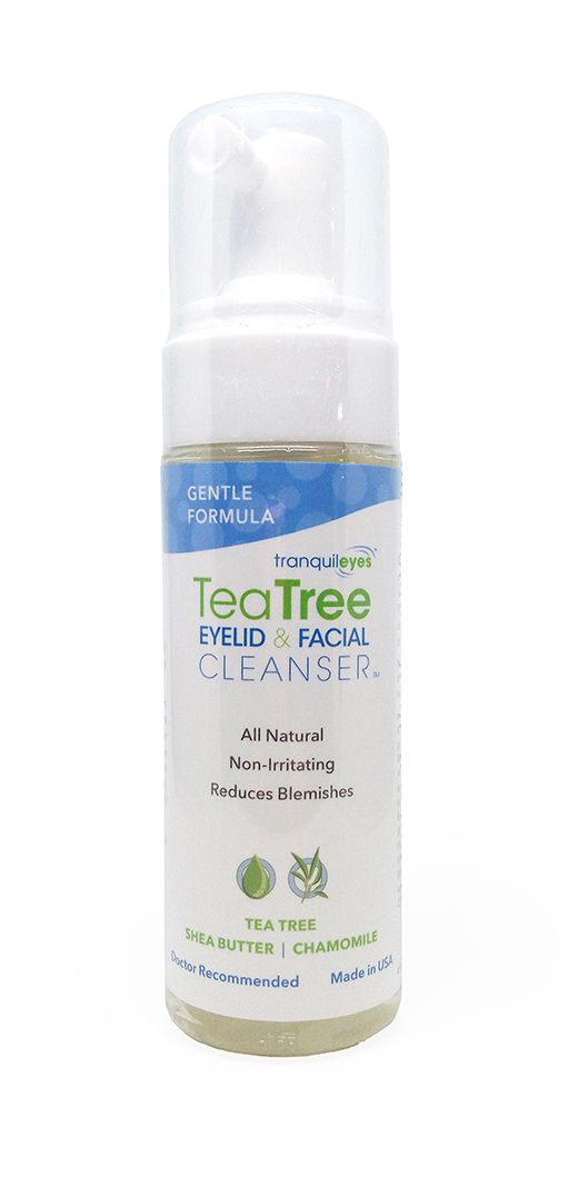 GENTLE FORMULA 1% TEA TREE EYELID & FACIAL CLEANSER™ 180 ML