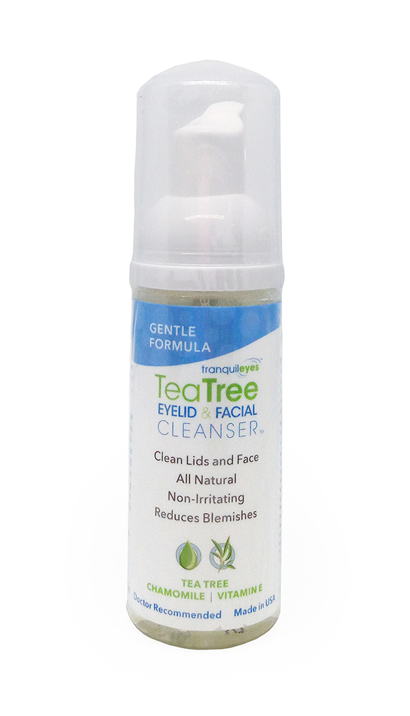 GENTLE FORMULA 1% TEA TREE EYELID & FACIAL CLEANSER™ 50 ML