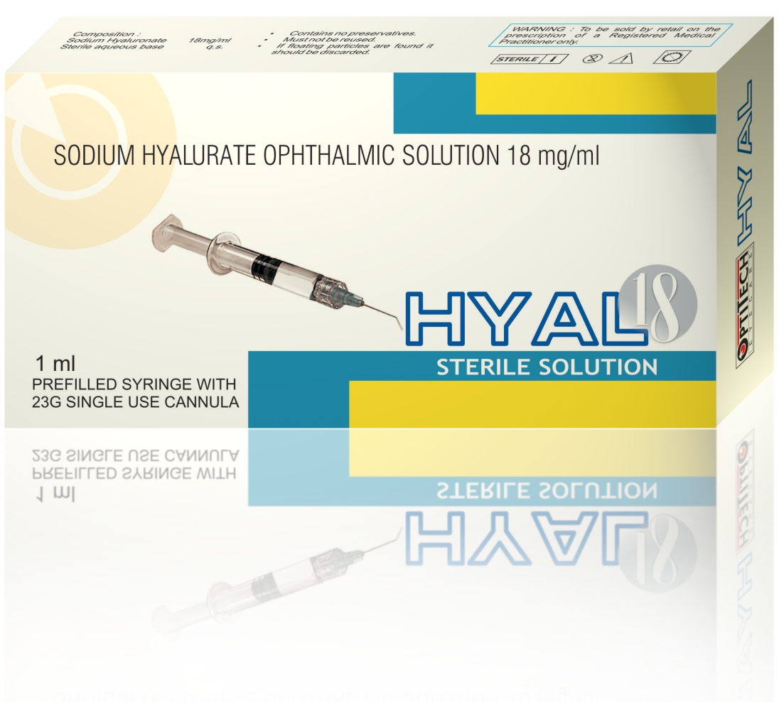Optitech HYAL18 Sterile Solution